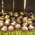 Chocolate milk balls